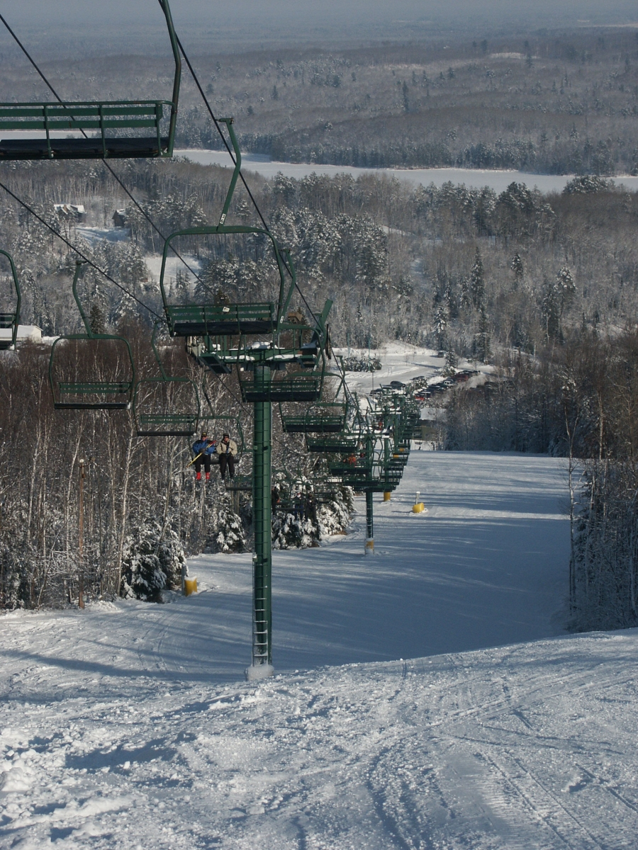 Chairlift at Giants Ridge