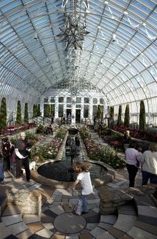 Sunken Garden at Marjorie McNeely Conservatory
