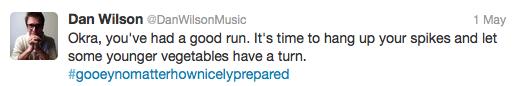 Dan Wilson tweet
