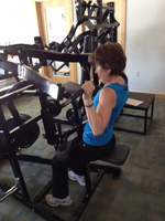 Mary Sheie at Discover Strength
