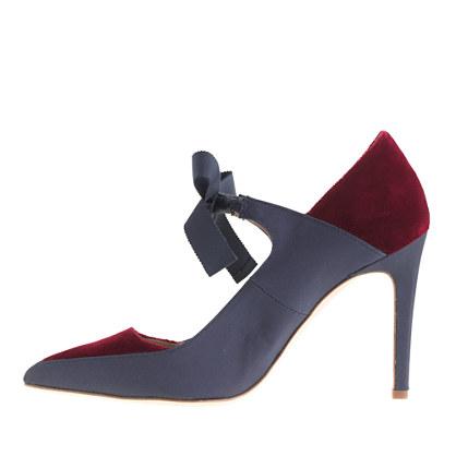 JCrew Bowtie shoe