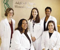Adefris & Toppin Women's Specialists