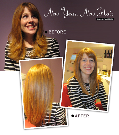 Intelligent Nutrients Hair Before and After