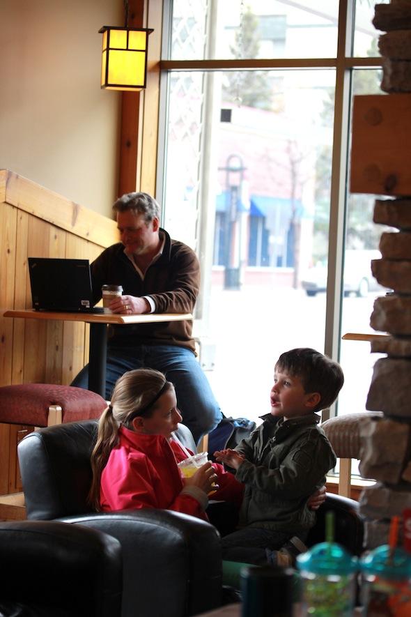 Caribou coffee community