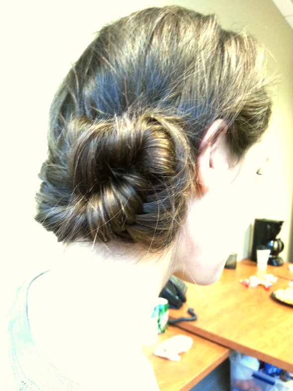 Cocktail party hair