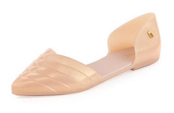 D'Orsay Jelly Sandal