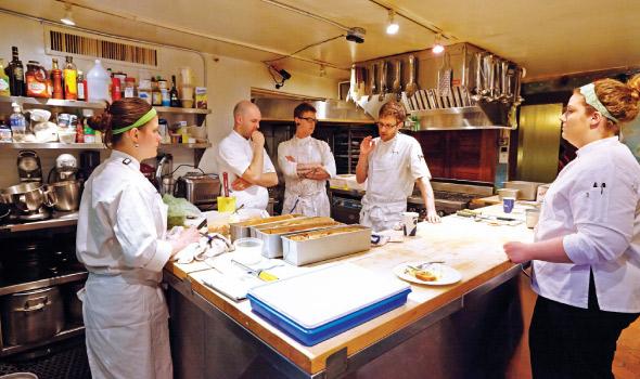 Bachelor Farmer in James Beard Kitchen
