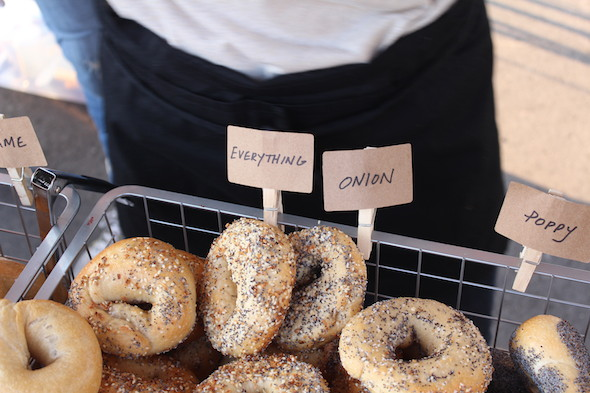 Everything Bagel Rise Bagel Co