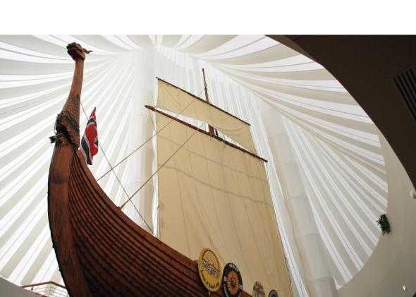 Fargo-Moorhead viking ship