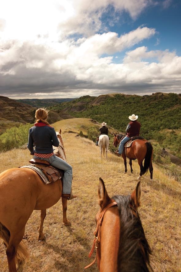 north dakota horseback riders