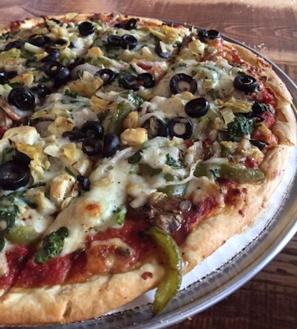 Super Veggie Pizza Giordano's