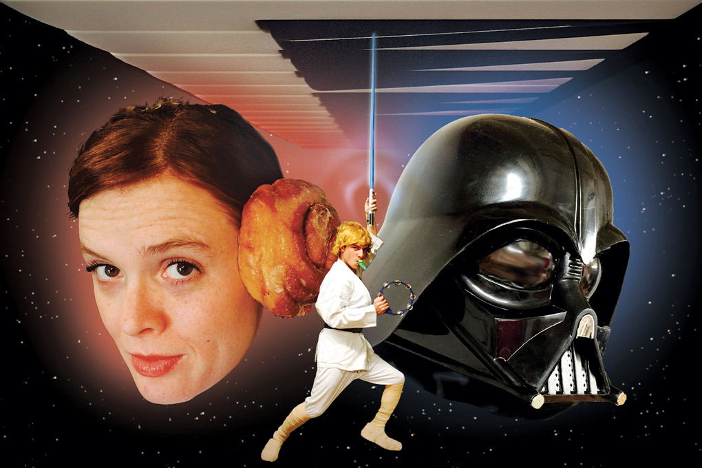 A Funny Thing Happened on the Way to the Death Star