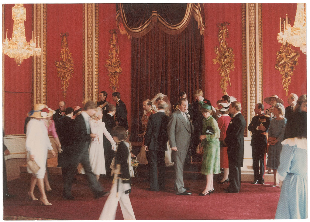 Prince Charles and Diana's 1981 wedding