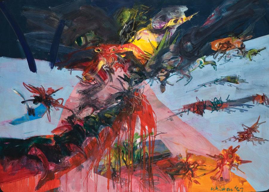 Jack Whitten art