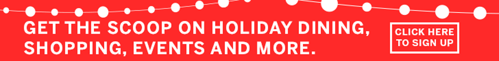 Holiday Email Signup