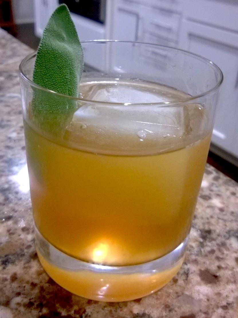 Bourbon Sage Sour