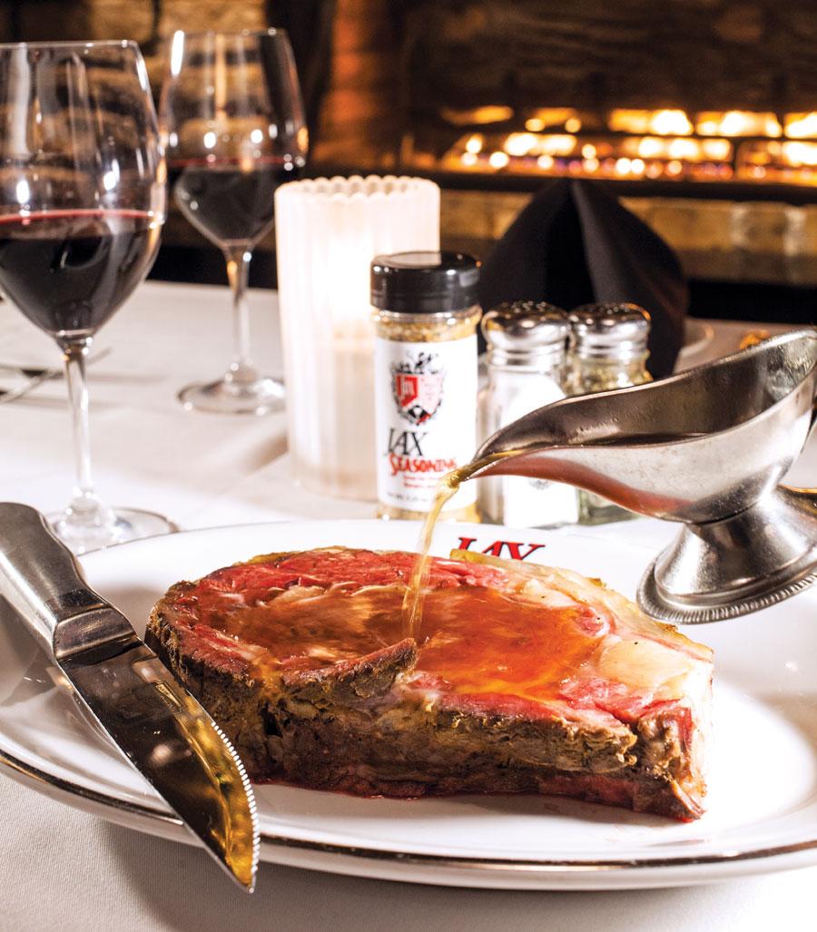 Jax Cafe, Minneapolis, steak, prime rib