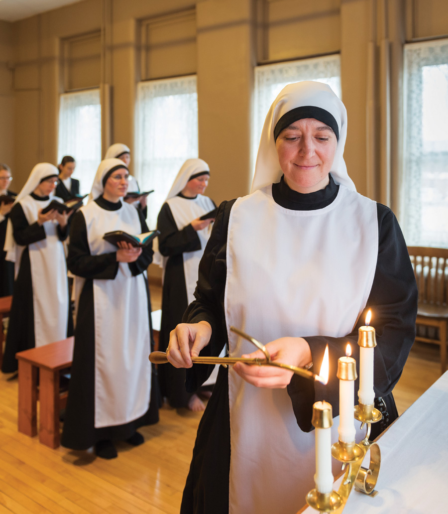 Meet Mother Mary Clare Roufs—One of the Youngest Nuns in
