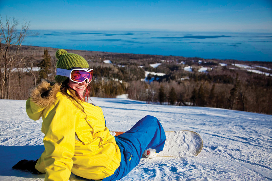 Lutsen, lutsen mountains, snowboarding, minnesota, winter