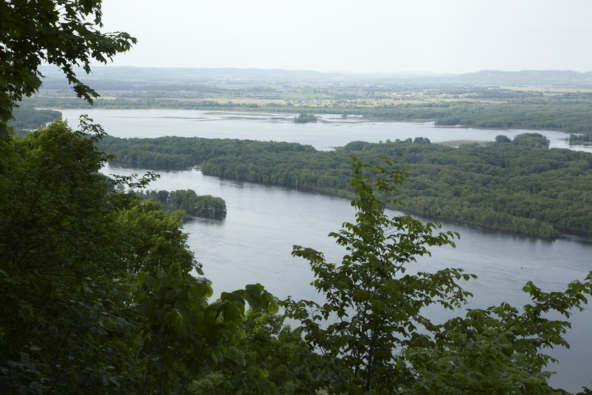 Kings bluff, trail, great river bluffs state park