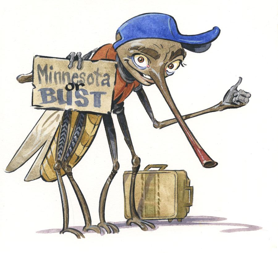 mosquitoes, zika virus in minnesota