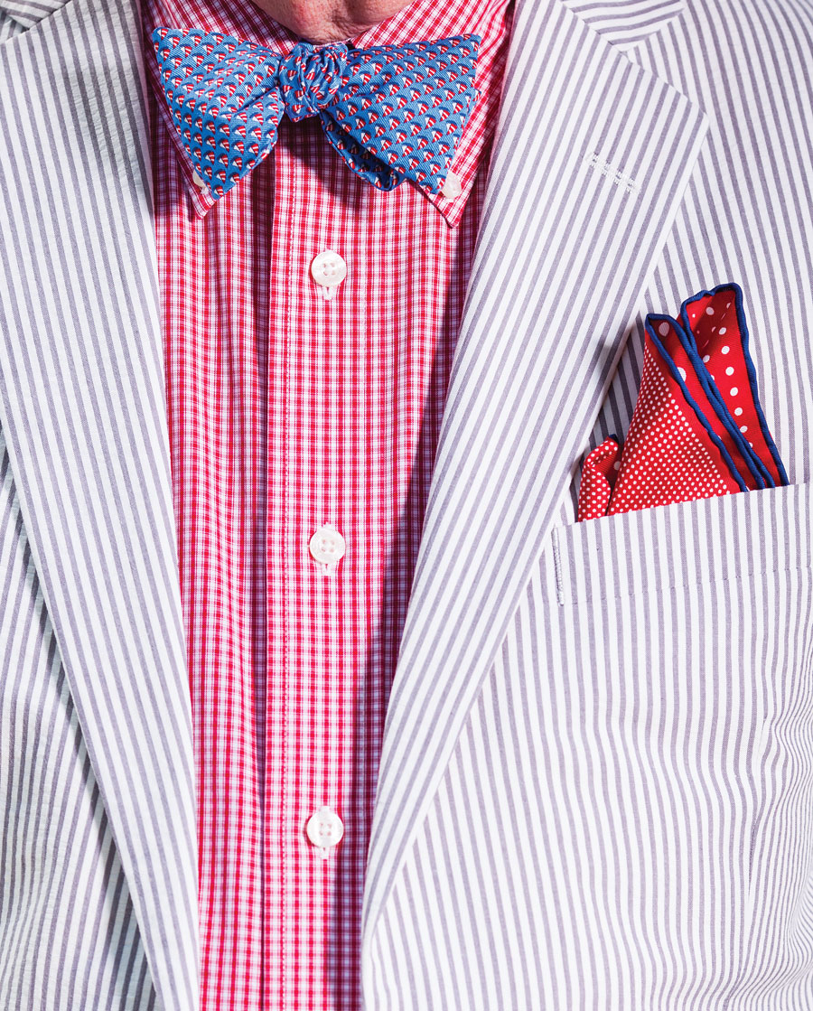 well styled, john faricy, profiles, brooks brothers, style