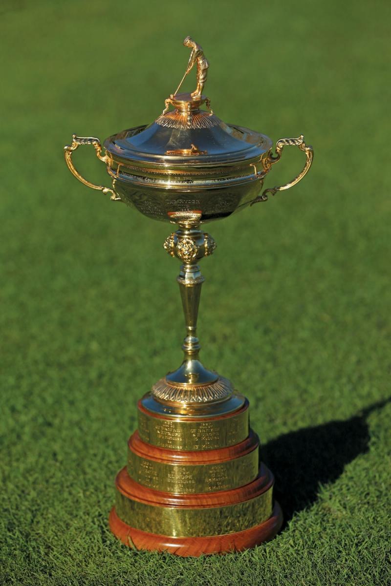 the ryder cup trophy, minnesota culture, minnesota sports, golf