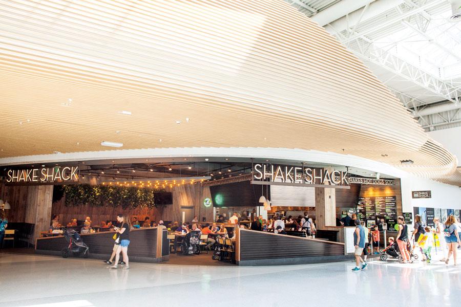 shake shack, mall of america, burger battle, restaurants, food