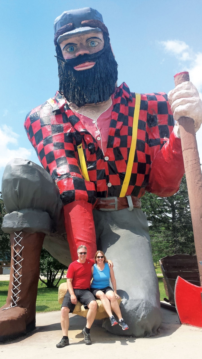 paul bunyan, walker, minnesota travel, trips, true north, landmarks