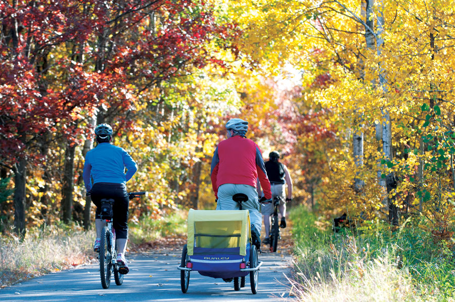 Paul Bunyan and Heartland State trails, minnesota travel, walker, biking, bike trails