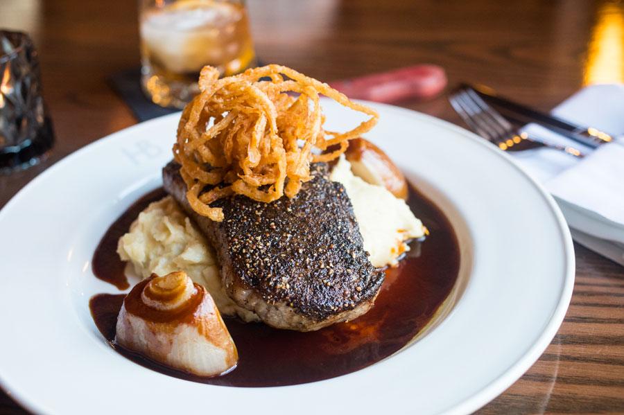 steak, herbie's on the park, st. paul, restaurants, food, jason and joy, restaurant rumble