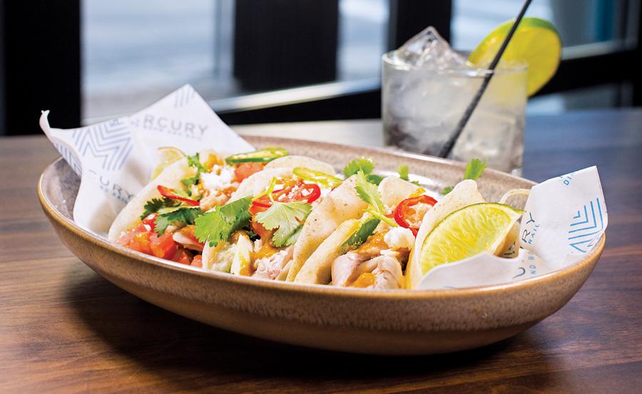 smoked chicken tacos, mercury dining room, food, restaurants, minneapolis