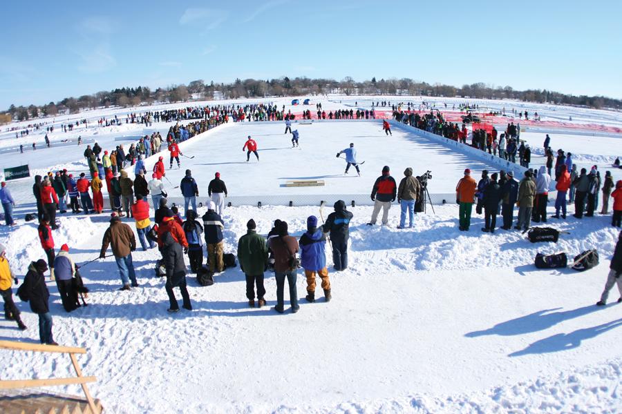 U.S. Pond Hockey Championships, Lake Nokomis