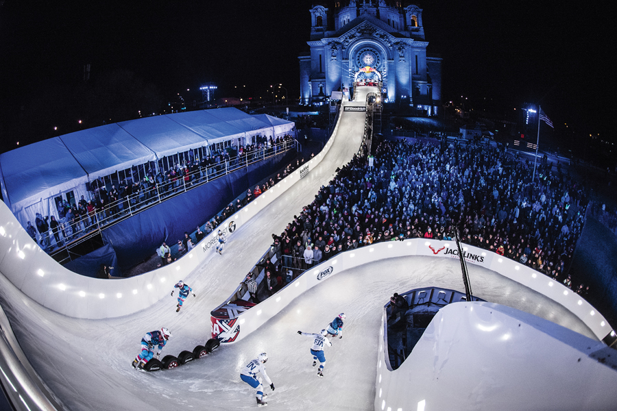 Red Bull Crashed Ice, St. Paul