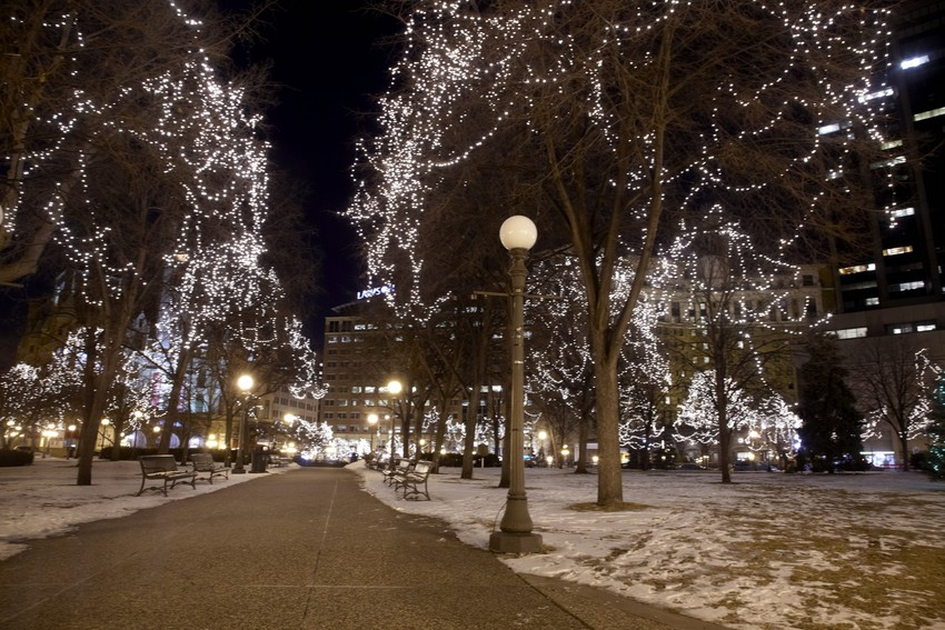 Rice Park, St. Paul, The Great Northern