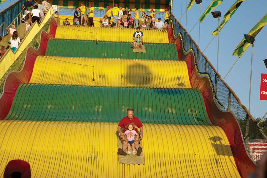 Slide at the Minnesota State Fair