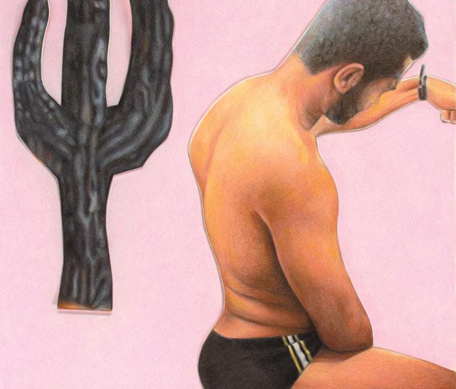 Joe Sinness, Untitled (Pose 2)