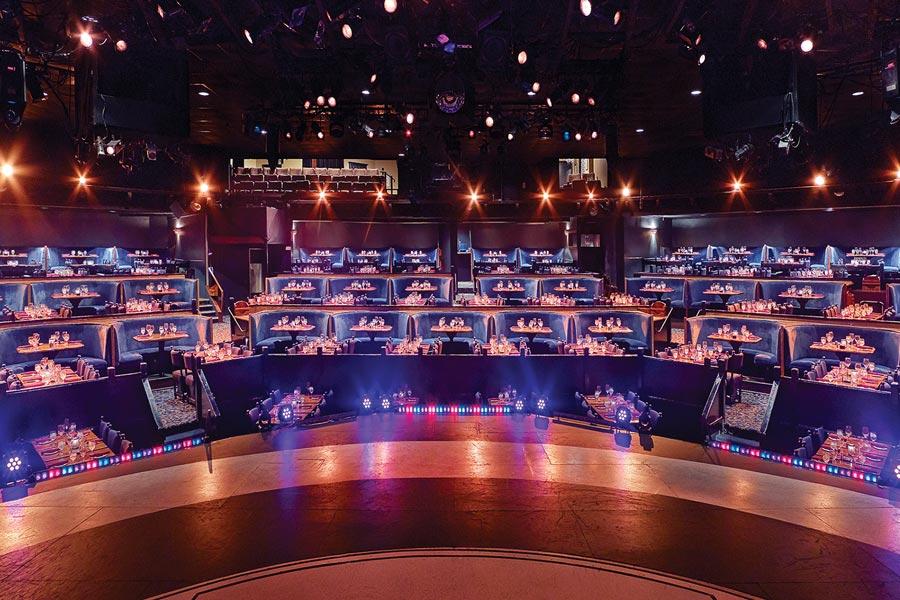 Chanhassen Dinner Theatres Stage.