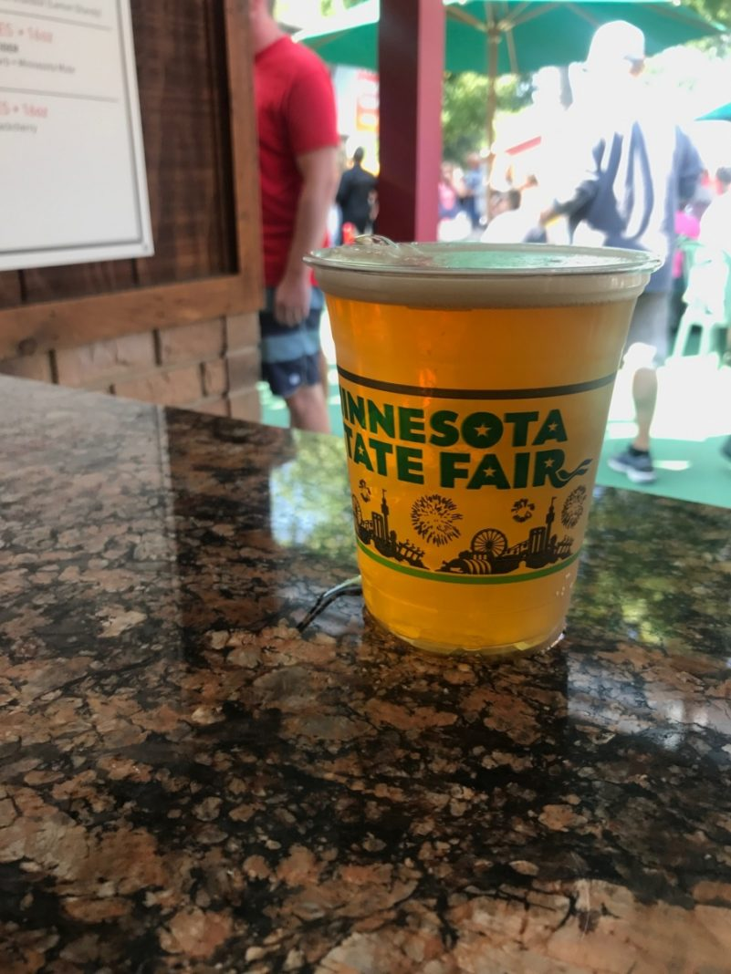 Beer at the Minnesota State Fair