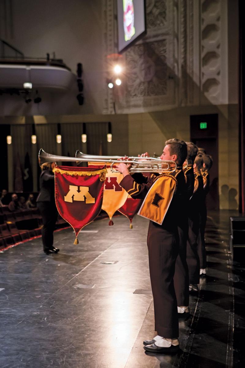 University of Minnesota Marching Band.