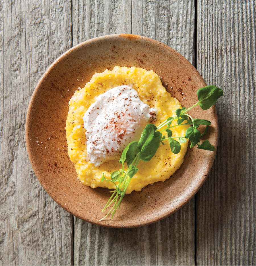 Make Your Own Old-fashioned Cornmeal Mush With Poached