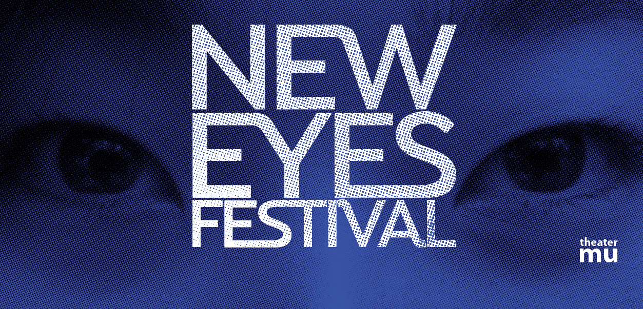Two eyes peer out in New Eyes' promotional image.