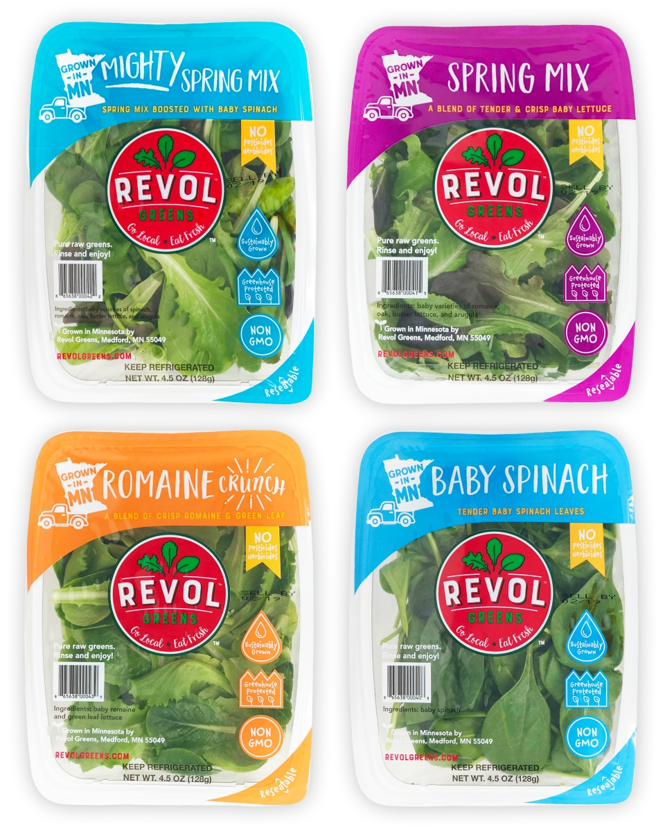 Revol Greens Products