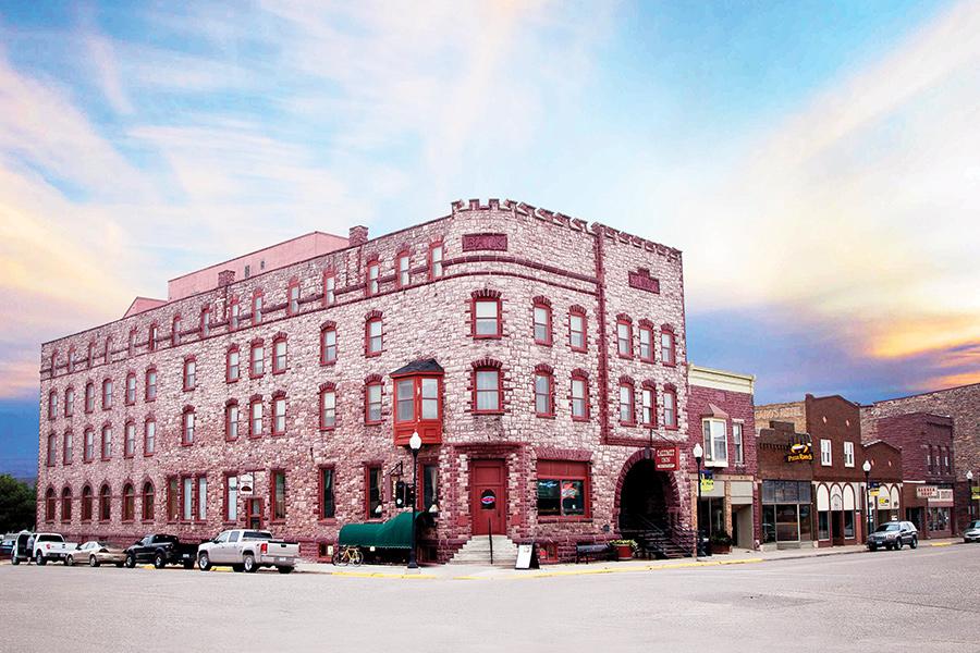Calumet Inn in Pipestone, Minnesota.