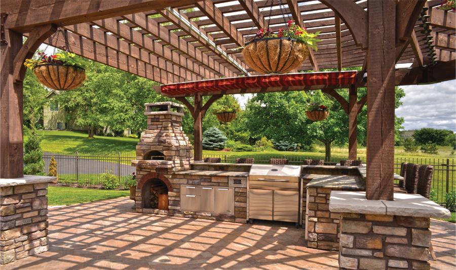 Summer Home Update: Outdoor Kitchen | Minnesota Monthly