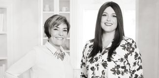 Photo of Martha O'Hara and Kate O'Hara of Martha O'Hara Interiors
