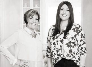 Photo of Martha O'Hara and Kate O'Hara of Martha O'Hara Interiors
