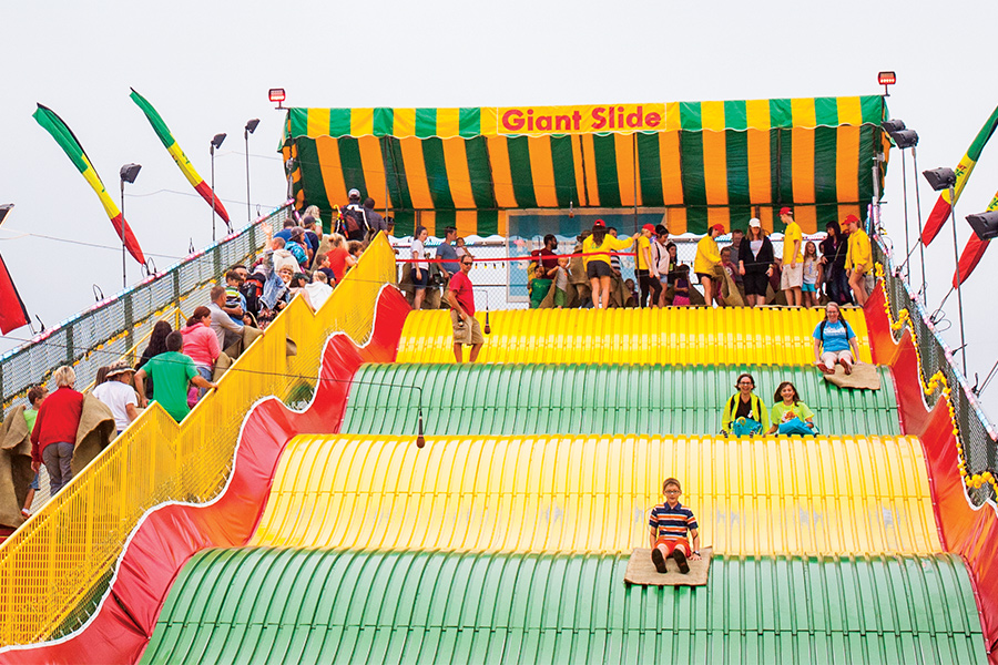 The Giant Slide at the Minnesota State Fair.