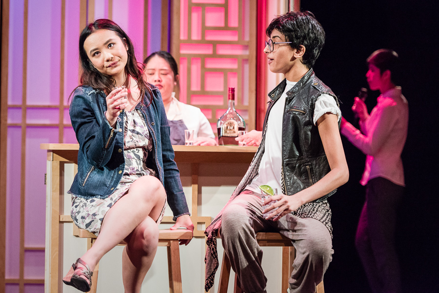 A Korean Drama Addict's Guide to Losing Your Virginity at Park Square Theatre through Aug. 19. Courtesy Rich Ryan