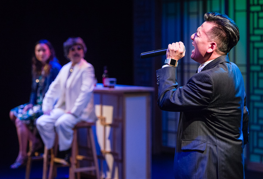 A Korean Drama Addict's Guide to Losing Your Virginity, playing at Park Square Theatre through Aug. 19. Courtesy Rich Ryan.